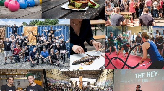 Paleo convention collage